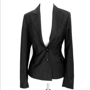 Bebe Darla black seam detail blazer office jacket